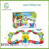 New type plastic child cartoon car garage parking toy playset