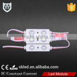Fireproof ABS material shell 0.72W power led 2 chips injection module with competitive price