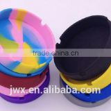 Silicone ash tray heat-resistant reception room usage