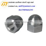 Dongguan factory supplier Stainless steel cap hex nuts