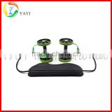 Sport Core Abdominal Trainer Double AB Power Roller Wheel