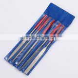 electroplated diamond needle files set three square file 5mm diamond needle files