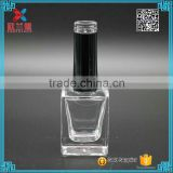 12ml screw cap clear glass custom made nail polish bottle sales                                                                         Quality Choice