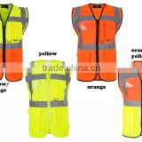 Wholesale High Quality Custom logo Reflective safety vest with EN20471 & CE standard, reflective cloting , reflective vest