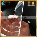 Glas for iPhone 6 with OCA adhensive / cold glue press frame white /black color accept OEM order