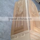 China cheap decorative interior door design wood veneer door skin HDF door skin price sapele red oak teak ash wood doorskin                                                                         Quality Choice