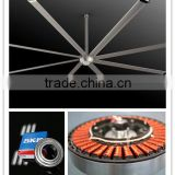 Shanghai Kale fan 14FT/4.2M Silence Gearless Electricity Power brushless Auto temperature controlled dc fan