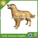 Polyresin life size antique dog statues