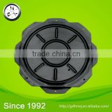 Logistics centre hot sale 360 degree free spin lazy susan fruniture turntable/ M258 round swivel plate (FT1411)
