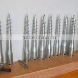 good price hot galvanized helical screw piles for foundation