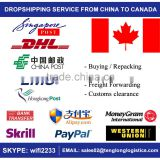 Reliable Dropship Agent to Canada - Buying & Shipping Service - Cheapest Freight Rates by Air and Sea