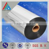 25 micron Vacuum Metallized PET film VMPET for flexible packaging/print