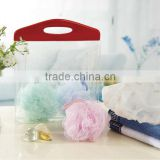 Ball Type mesh shower sponge plastic products manufacturer