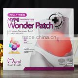 2016 hot sale korea belly mymi wonder patch for weight loss / slimming weight loss patch / magnet slimming patch                                                                         Quality Choice
