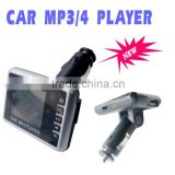sliver car mp4 player New Car Kit MP4 Player black MP4 FM Transmitter for SD/MMC/USB Card MP4