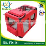 Folding pet carrier xxl dog crate for sales factory