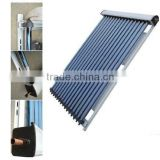 All glass heating element for water heater, evacuated tubes solar collector for pitched roof,solar system