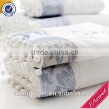 China supplier new home textiles 100% cotton terry bath towel set bath towel face towel and square towel hand towel