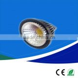 GU10 COB 3w/5w/7w LED spot bulb lighting, 185-265V 50*H55mm Aluminum+plastic COB LED spot lamps