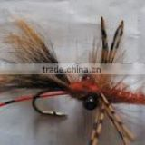 Crayfish Bass Bug fishing flies
