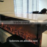3 sided 2 sided double sided electric fireplace