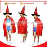 cosplay cloak cheap satin capes party costume custom printed capes halloween witch cloak
