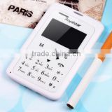 12-Card Small Student Mobile Phone Ultra Thin 4.8mm Clear Screen Mp3 Player Small Phone