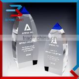 Newest glass award plaques Crystal Trophy Factory