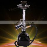 New arrival hot selling sliver china cheap gun hookahs wholesaler,pistol hookahs,ak47 water pipe smoking,HM224