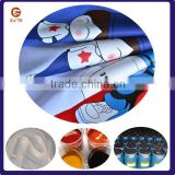 most popular in China market t shirt silk screen printing raw material