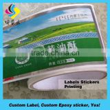 Self adhesives label printing honey bottle labels, sweet bee honey sticker