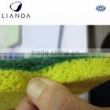 colorful dish washing cellulose scrubbing sponge,eco-friendly cellulose scrub sponges,kitchen cellulose scrub sponges
