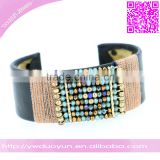 2016 Winter Collection Ladies Cuff Beads Bangle