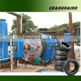 Small capacity tyre/plastic pyrolysis reactor for sale