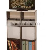 Good quality factory sale portable plastic wardrobe cupboard