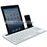 bluetooth multi-device keyboard with touchpad mouse for tablet/smartphone
