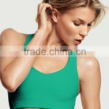 Top selling with cheaper price women fitness yoga wear padded girls sports bra