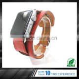 Trade Assurance Custom Logo Accept sport leather western watch band for apple