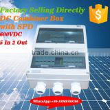 PV combiner box wholesaler apply for inverter and solar panels