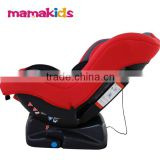 ECE R44/04 group 0+1 ECE R44/04 red color booster car seat baby car seat