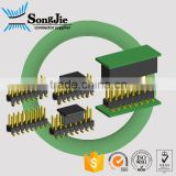 16 pin smt ph2.54mm double row pin header pcb application