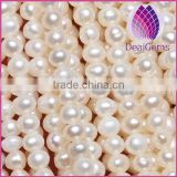 3-3.5mm Natural white Freshwater patato round Pearls