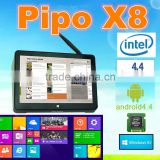 "2016 factory direct selling ! Intel PIPO X8 Win 8.1/Android 4.4 Dual Boot OS Intel Z3736F Quad Core Mini PC 7""Tablet"