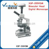 XSP-200VDM Binocular Head Digital Microscope