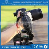 Factory supply cheapest leather hand wrist strap with quick release plate for DSLR camera
