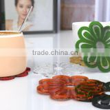 hot sale acrylic cup mat lucite cup wad acrylic coaster