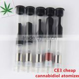 2016 Best seller cheap ce3 hemp oil cbd oil atomizer cbd hemp oil hemp seed oil organic