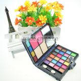Chinese factories wholesale custom 48 slot cosmetic box, han edition beautiful black eye shadow box