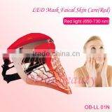 Facial Care Photon Mask PDT Machine Led Making Led Light For Skin Care Machine OB-LL 01N Led Face Mask For Acne Red Light Therapy For Wrinkles