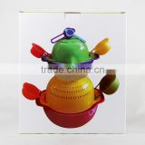 China wholesale all kind of plastic spoon 10 pcs mixing bowl